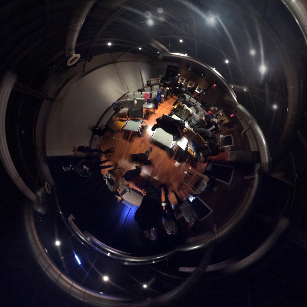 Upward looking down at TSpec II